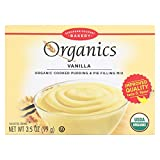 European Gourmet Bakery Organic Vanilla Pudding Mix - Vanilla - Case of 12-3.5 oz.