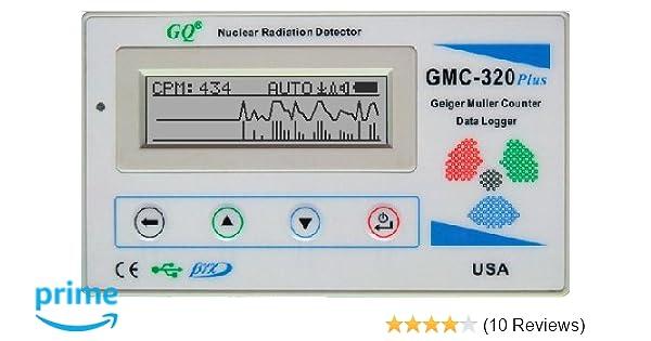 GQ GMC-320+V5 Digital Geiger Counter WiFi Wireless Data Logger Dosimeter Radiation Detector: Amazon.com: Industrial & Scientific