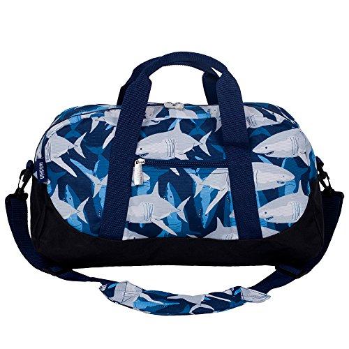 Wildkin Sharks Overnighter Duffel Bag