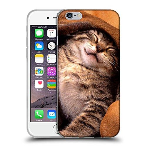 """Just Phone Cases Coque de Protection TPU Silicone Case pour // V00004274 chat amour pour le chien // Apple iPhone 6 6S 6G PLUS 5.5"""""""