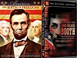 The Assassination of President Lincoln - American: The Birth of Freedom & The Hunt for John Wilkes Booth 2-Documentary Bundle