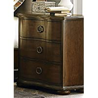 Liberty Furniture 545-BR61 Cotswold 3-Drawer Night Stand, 28 x 17 x 29, cinnamon