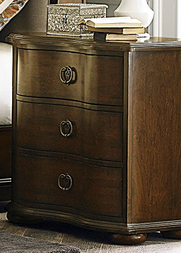 Liberty Furniture 545-BR61 Cotswold 3-Drawer Night Stand, 28