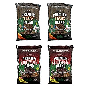 Green Mountain Texas Hardwood Grill Pellets (2 Pack), Fruitwood Pellets (2 Pack) from epic Green Mountain Grills