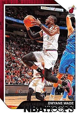 new styles ae4b1 dcee5 Amazon.com: 2018-19 NBA Hoops Basketball #207 Dwyane Wade ...