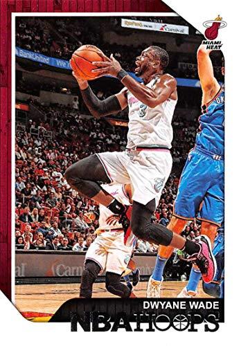 Dwyane Wade Hoops - 2018-19 NBA Hoops Basketball #207 Dwyane Wade Miami Heat Official Trading Card made by Panini