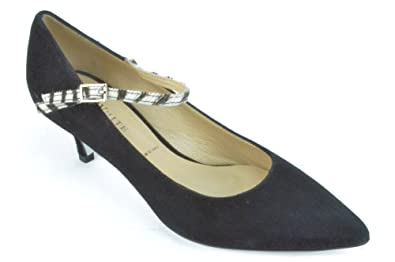 hot sale online another chance new list Amazon.com   Ron White Monique Women's Onyx Suede Mary Janes ...