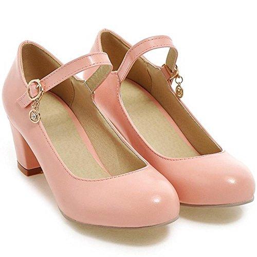 Pink Zanpa Low Women Basic Zanpa Heel 2 Pumps Women Shoes pq5zwTn