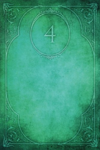 "Monogram ""4"" Notebook: Blank Diary Journal Log (Monogram Elegance 150 Lined) (Volume 30) PDF"