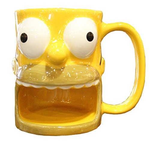 Universal Studios Homer Simpson Donut Holder - Mug Gift Cookie