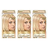 L'Oréal Paris Superior Preference Permanent Hair Color, LB02 Extra Light Natural Blonde, 3 Count
