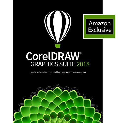 CorelDRAW 2018 Graphics Suite with ParticleShop Brush Pack - Amazon Exclusive [PC Download] by Corel