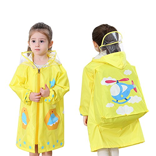 YOUDirect Kids Raincoat - Girl Boy Cartoon Waterproof for sale  Delivered anywhere in USA
