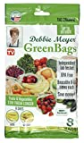 Debbie Meyer GreenBags Freshness-Preserving Food/Flower Storage Bags, Extra Large, 8-Pack
