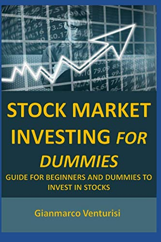 51f8P6TekFL - Stock Market Investing For Dummies: Guide for beginners and dummies to invest in stocks