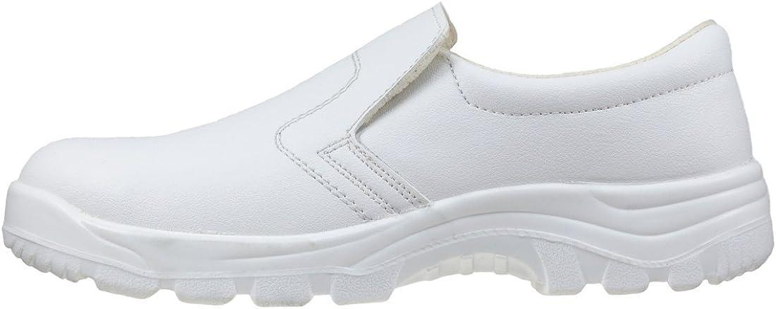 251 S2 Chaussures de s/écurit/é imperm/éables avec embout en m/étal et microfibre Blanc