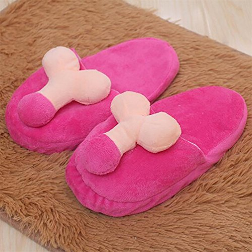 Women Soft Skid Penis Creative Men Pattern Cozy 2 Slippers Indoor Proof Breast dds5391 SCqIx