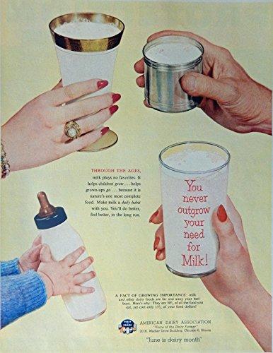 american-dairy-association-50s-vintage-print-ad-color-illustration-original-rare-1953-life-magazine-