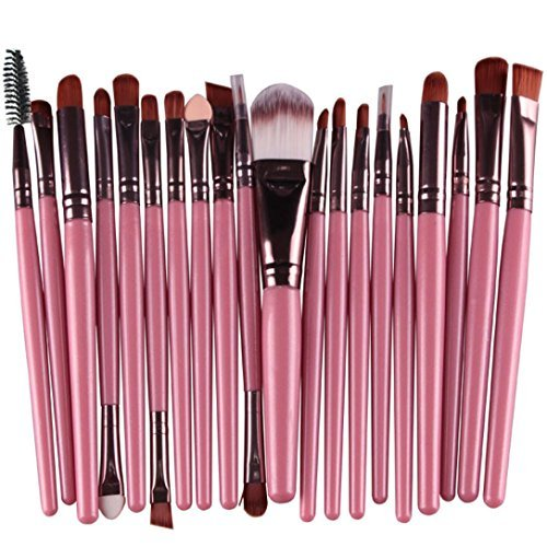 Susenstone®20 pcs/set Makeup Brush Set (Pink)
