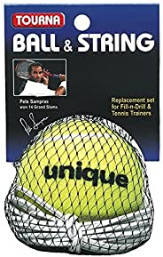 Unique Ball And String Replacement For Fill And Drill Tennis Trainer