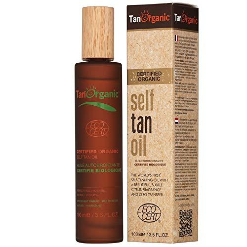 TanOrganic Organic Self-Tanning Oil - 3.5 oz