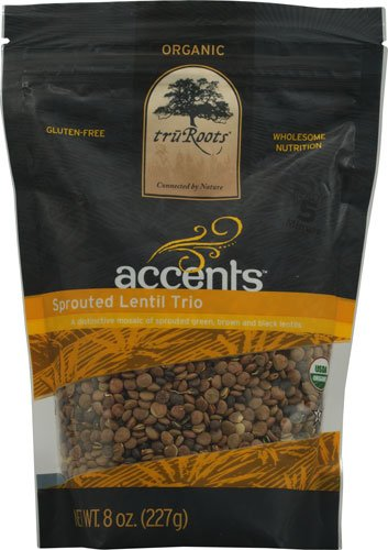 TruRoots Organic Accents? Sprouted Lentil Trio -- 8 oz - 2 pc