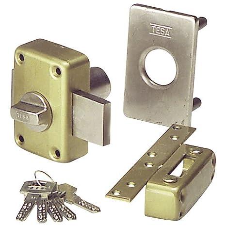 Tesa 3010280 Cerradura Seguridad 2110/T1/4E: Amazon.es: Bricolaje y herramientas