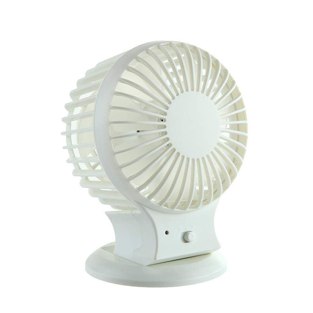 Color : Green, Size : One Size USB Small Fan Personal Quiet Rabbit Handheld Electric Fan Mini Portable USB Charging for Office Dormitory Travel Convenient Mini