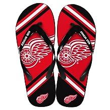 Detroit Red Wings NHL Unisex Big Logo Flip Flops
