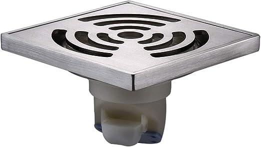 Mamparas de ducha Desagüe En El Piso Acero Inoxidable Gran ...