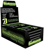 Health & Personal Care : Kimtech Touchscreen Cleaning Wipes, 10 Pack's of 10 (Total of 100 Wipes), 3.1 x 3.9 Inch
