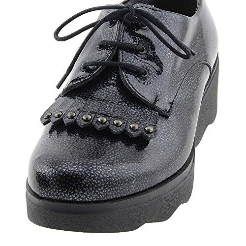 Zapatos Negro Zapatos Pitillos Piel Piel nzax0qg48