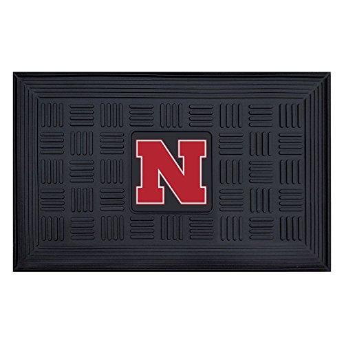 Fan Mats University of Nebraska Heavy Duty Door Mat