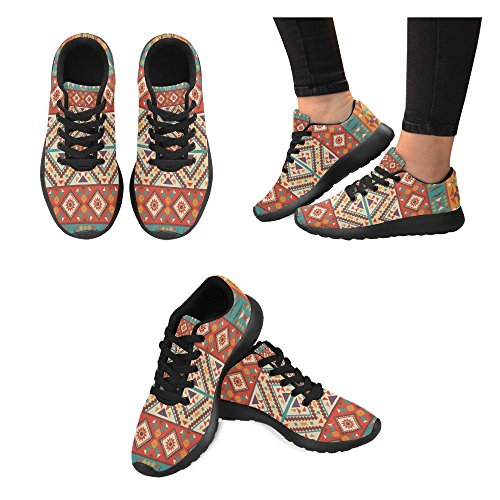 InterestPrint Womens Trail Running Shoes Jogging Lightweight Sports Walking Athletic Sneakers Multi 9 GVpL1ozr7l