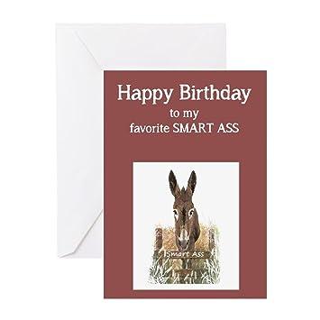 Amazon Cafepress Happy Birthday Smart Ass Funny Donkey