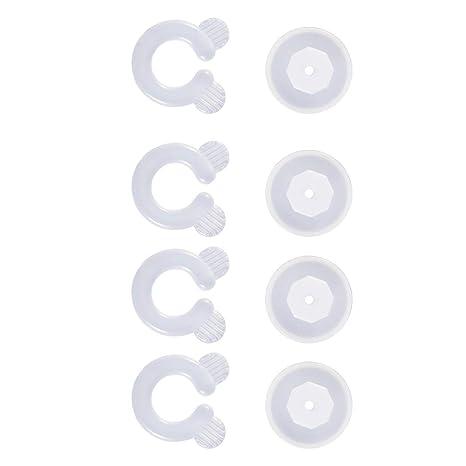 Tellaboull 4 Unids Fácil de Operar Sujetar la Cama Edredón de la Edredón Clips Sujetadores Dormitorio