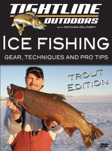 Ice Fishing for Trout with Nathan Zelinsky (Ice Fishing Videos)