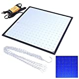 AMPERSAND SHOPS High Power 225 Blue LEDs Ultrathin Grow Light Lamp Panel Hydroponics Room Tent Greenhouse Bulb