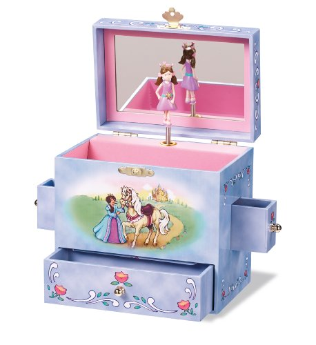 Enchantmints Fairy Tale Princess Music Jewelry Box (Box Fairy Music)