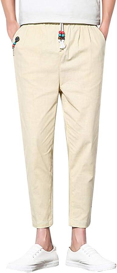 Geilisungren Slim-fit Jogger Pant - Casual-Pants Hombre Pantalón ...