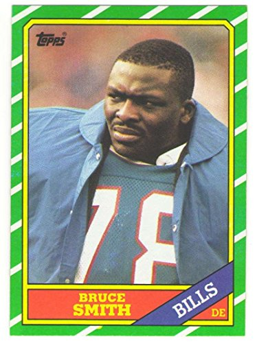 1986 Topps Football Team Set - BUFFALO BILLS w/Bruce Smith RC & Andres Reed RC