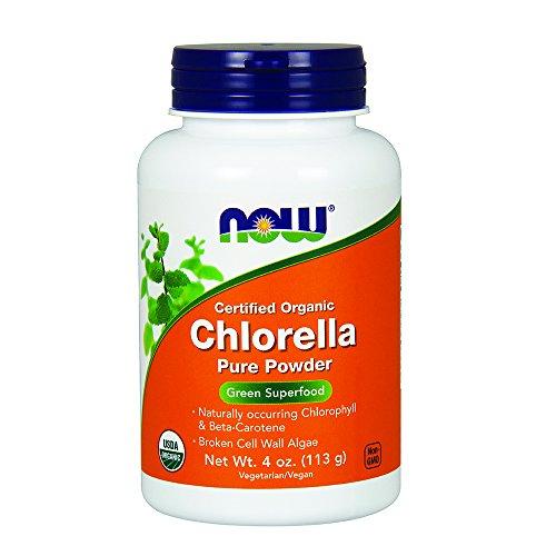 NOW Organic Chlorella Powder,4-Ounce Chlorella Now Foods