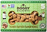 Doggy Delirious Milk Bone Peanut Butter, Variety Pack