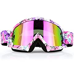 Why Choose our Motorcycle Goggles?YC Racing Tinted Motorcycle Goggles with compact lens against dust, wind, rain, snow, sunlight, and UV rays to provide clear sight and keep you safe in outdoor racing sports. FAQ for these Motocross Goggles?1...