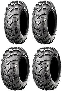 6ply 4 Full set of Sedona Mud Rebel R//T 26x9-14 and 26x11-14 ATV Tires