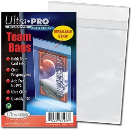 400 Ultra Pro Standard Team Bags 4 Packs of 100 New Team Set Lot Value Pack