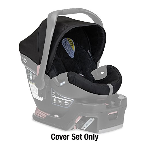 Britax B-Safe 35 Infant Car Seat Cover Set, Black