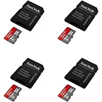 4 x Quantity of Helicopter Quadcopter Airplane Boat Car Controller SanDisk Ultra 8GB UHS-I Class 10 Micro SDHC Memory Card Up To 30MB/s With Adapter Full Video HD 8