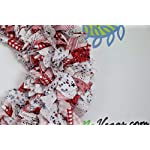 American-Flag-Rag-Wreath-Flag-Fabric-Wreath-July-4th-Wreath-Independence-Day-Wreath-Patriotic-Flag-Wreath-Memorial-Wreath-Fabric-Wreath