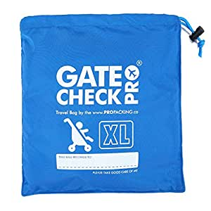 Gate Check Pro Xl Double Stroller Travel Bag Premium